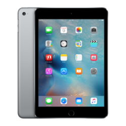 Apple iPad mini 4 Wi-Fi 16GB Tablet PC, Space Gray