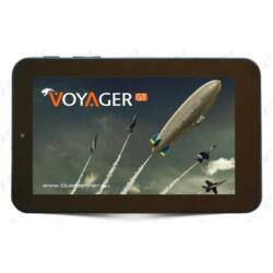 "Bluepanther Voyager GT fekete TABLET PC + 8GB Samsung microsd kártya, WiFi + 3G + BT 4.0 + GPS, 7"" 1024x600 IPS, 1,0GHz,"