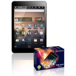 """DIGITECH Tab mini T79 fekete TABLET PC 7,85"""" 1024x768 LCD, 1,5GHz, Dual Core, 1GB RAM 8GB Flash, Android 4.2 JB, miniHDM"""