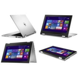 "Dell Inspiron 3147 2-in-1 11.6"" HD, Intel Pentium N3540 (2.66 GHz), 4GB, 500GB Win 10 ezüst"