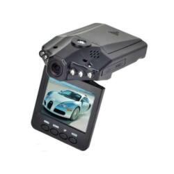 """HD DVR autós kamera, 2.5"""" TFT LCD kijelzővel, video és fénykép készítés, MicroSD kártyával bővíthető 32 GB-ig, USB 2.0"""