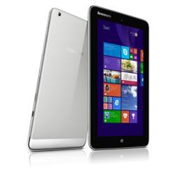"LENOVO Tablet Miix2, 8"" HD Touch, Intel Z3740 (1,33GHz), 2GB, 64G EMMC, Integrated VGA, BT, Wi-Fi, WIN8.1 32bit, ezüst,"