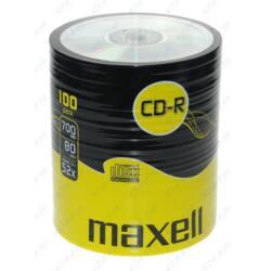 MAXELL CD lemez CD-R80 100db/Henger 52x Shrink