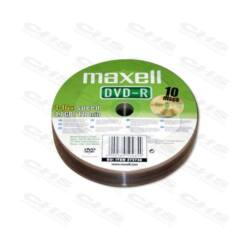 MAXELL DVD lemez -R 4.7GB 10db/Henger 16x Shrink