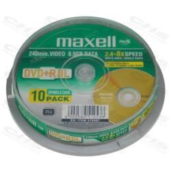 MAXELL DVD lemez +R DL 8.5GB 10db/Henger 8x Nyomtatható