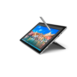 "Microsoft Surface Pro 4 - 12.3"" (2736 x 1824) - Core i7 (6th Gen, Iris Grph) - 16 GB RAM - 512 GB SSD Windows 10 Pro Eng"
