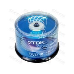 TDK DVD lemez +R 4.7GB 16x 50db/Henger